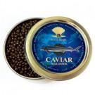 "3.5 oz /100 g Premium Quality Russian Sturgeon Black Caviar ""Malosol"""