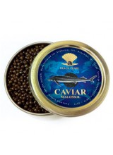 "9 oz / 250 g Premium Quality Russian Sturgeon Black Caviar ""Malossol"""