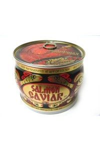 Salmon Red Caviar in Russian Souvenir Can, 500g