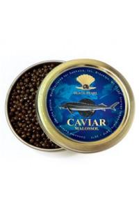 "Premium Quality Russian Sturgeon Black Caviar ""Malosol"",100 g"